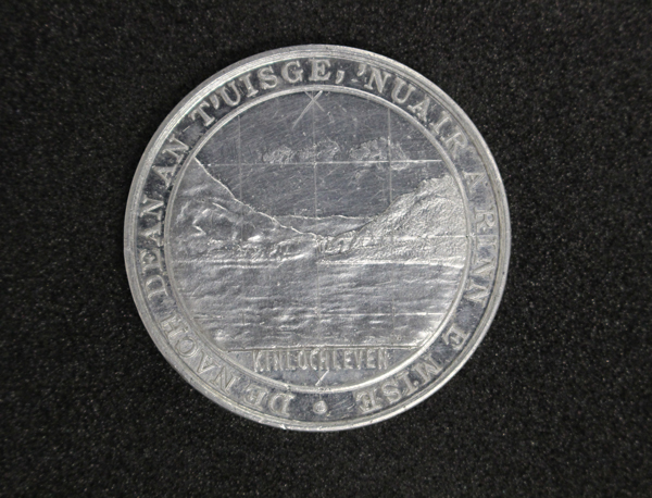 'Aluminium Manufactured at Kinlochleven' Medal, GLAHM:37786 (obv)