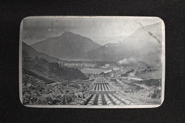 Aluminium Postcard, GLAHM:37976 (obv)