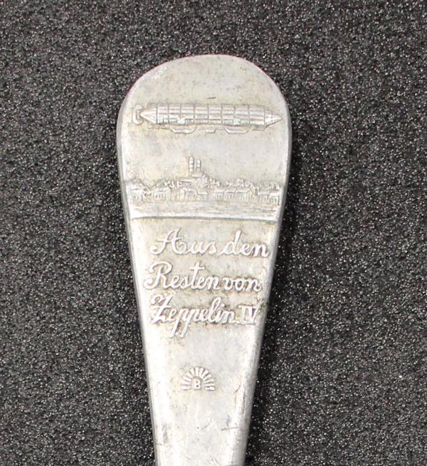 Zeppelin Spoon, GLAHM: 37715 (rev, detail)